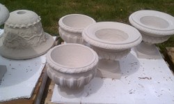 New England Garden Ornaments - Palettes of Pots