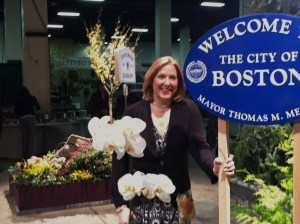 Janine at Flower Show 2012